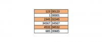 Compléter un nombre avec des 0